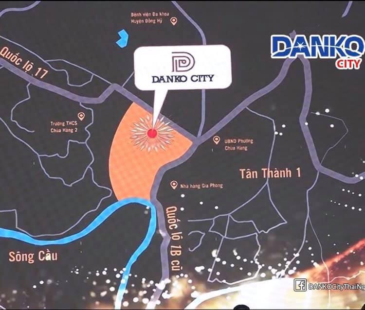 vị trí dự án danko city